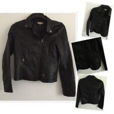 Blue Zoo Debenhams Faux Leather Biker Coat 14 Years