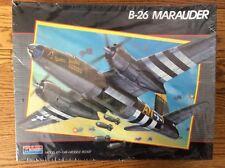 Monogram B-26 Marauder 1:48 scale 5506 1989 in Original Shrink wrap with Crew