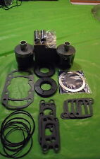 503 Rotax Aircraft Engine Piston Top End Rebuild Kit Std W bearings & Gaskets