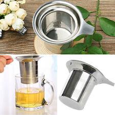 Infuseur à Thé En Inox Boule Passe Filtre Passoire Cuillère Tea Infuser Pratique