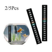 aquarium aquarium thermograph celsius temperatur messen. thermometer aufkleber