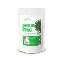 Organic Spirulina Powder 100% Pure All Natural Raw Vegan Gluten-Free USDA 16 oz