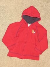 EUC Gymboree Outlet Surf Island Red Jacket Hoodie Size 2T