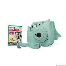 Fuji Instax Mini 9 ice blue Fujifilm Sofortbildkamera Sofortbild kit 1DP Film