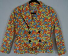 Walter van Beirendonck W&LT Puk-Puk jacket orange blue yellow allover print S