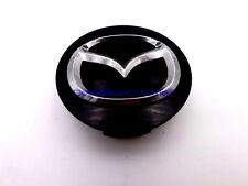 Mazda Black Chrome Logo Wheel Center Cap Rim RX-8 CX-7 CX-9 Genuine OEM 2 1/4""