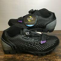 Bontrager Tario Mountain Bike Shoes Cycling Women's 7 - 38.5 EU Black Purple NEW