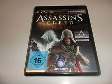 PlayStation 3  PS 3  Assassin's Creed Revelations Special Edition
