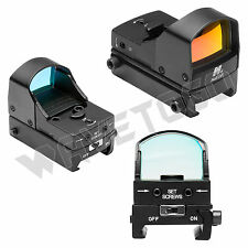 NcSTAR Micro Red Dot Reflex Optic On/Off Switch 2 MOA LED Weaver Mount Aluminum