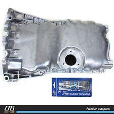 Engine Oil Pan w/ Oil Level Sensor Hole for 00-05 Audi A4 VW Passat 1.8L