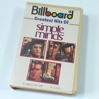 SIMPLE MINDS GREATEST HITS IMPORT CASSETTE TAPE ALBUM INDONESIA BILLBOARD