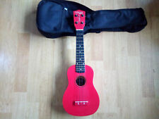 Tanglewood Union Series TU6 - Red Ukulele With Case - Good Condition