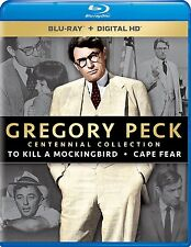 PRE ORDER: TO KILL A MOCKINGBIRD /CAPE FEAR (Gregory Peck) BLU RAY - Region free