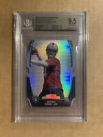 2014 DEREK CARR TOPPS CHROME MINI DIE CUT REFRACTOR ROOKIE RC BGS 9.5 RAIDERS