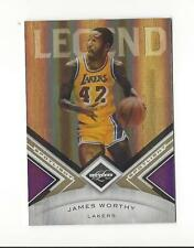 2010-11 Limited Gold Spotlight #126 James Worthy Lakers 33/49