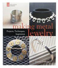 Fare gioielli in metallo LIBRO | progetti tecniche di ispirazione & (d18/10)