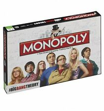 NEW The Big Bang Theory Monopoly - Limited Edition - Brand New & Sealed FAST P&P