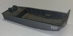 Vintage ELDON 1010 USMC Plastic Toy Military Transport Boat Incomplete