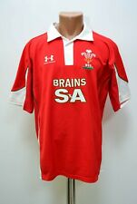 Rugby Union Wales national team shirt jersey Under Armour Size L adult