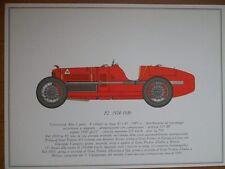 STAMPA P2 1924-1930 ALFA ROMEO  ANNI 60 (M14-3  )