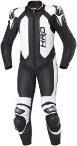 Held Slade 1 Piece Kangaroo Leather Motorcycle Motorbike Race Suit - Black White