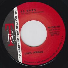 LOUIS JORDAN 65 Bars TANGERINE 7 Re. 45 Strong 1965 Soul R&B Hammond Burner HEAR