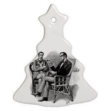 Sherlock Holmes Watson Porcelain Christmas Tree Shaped Ornament