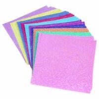 2X(50 Stücke/ Set Quadrat Origami Papier Einseitig Glänzend Falten Einfarbi JS