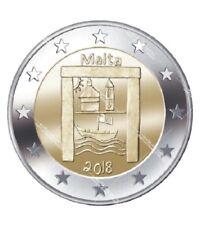 2 EURO Malta 2018 – Cultural Heritage / Kulturerbe – Bankfrisch