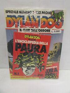 DYLAN DOG speciale n°1 - BLISTERATO, CHIUSO DALLA CASA - con libretto - sc10 -