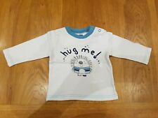 M&Co Baby 'Hug Me' Long Sleeve Top - 6-9 months - Combined P&P Offered
