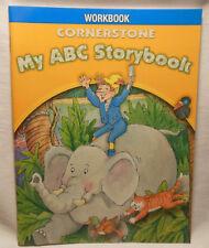 Pearson My ABC Storybook Cornerstone Workbook Alphabet Teaching NEW