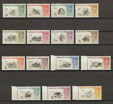 FALKLAND ISLANDS 1960-6 193/207 MNH Cat £170