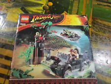 Lego 7625 - Indiana Jones - River Chase - Instruction Manual Only~