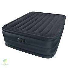 Queen Size Airbed Mattress Built In Electric Pump Raised Bed Aerobed