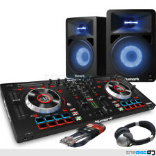 Numark Mixtrack Platinum, Serato DJ Lite, Numark 580L Speakers, HF125 DJ Bundle