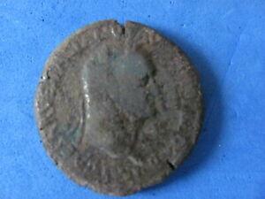 RARE / SCARCE Bronze Dupondius of NERO 54/68 A.D.