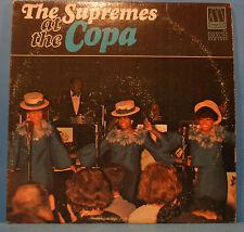 THE SUPREMES AT THE COPA VINYL LP 1965 MONO ORIGINAL PRESS NICE COND! VG/VG!!A