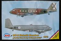 """MPM 72527 - DC-2 Bomber """"Capitan Vara de Rey & Hanssin-Jukka"""" - 1:72 Bausatz KIT"""