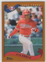 2002 Topps Baseball Philadelphia Phillies Team Set