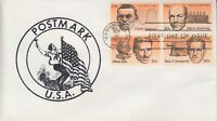 1983 #2058a AMERICAN INVENTORS FDC POSTMARK CACHET #6 OF ONLY 6 MADE UA! GEM!
