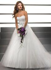 Robe de mariée BLANC taille 44 : LIVRABLE DE SUITE