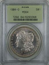 1904-O Morgan Silver Dollar Coin, Better Coin, PCGS MS-64 OGH, SPL