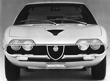 1970 Alfa Romeo Montreal Factory Photo J6689