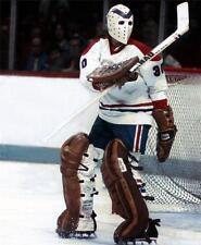 Vintage 1976 David Elenbaas Montreal Canadiens Goalie Autograph and Photo