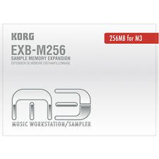 Korg EXBM256 Sample Memory Expansion For PA3x M3 & Pa2X Pro, New!