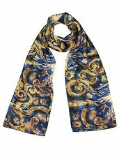 TARDIS Pandorica Silk Scarf - Gift for Doctor Who Women Fans - Christmas Gifts