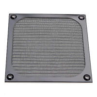 120mm PC Computer Fan Cooling Dustproof Dust Filter Case Aluminum Grill Guard NT