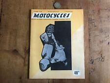 revue moto numéro 2 motocycles 1 fevrier 1952