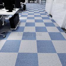 Flooring Carpet Tiles Peel and Stick Choice Colors Blue Brown Gray Mat   #